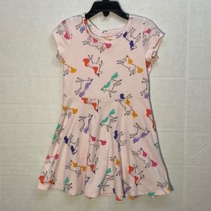 Unicorn Dress by Cat and Jack, Size 4/5, EUC